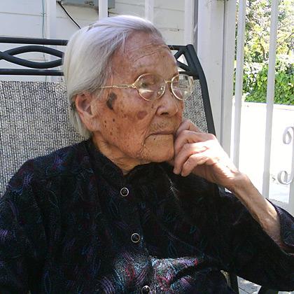 My beloved grandmother.